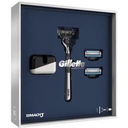 Gillette Zestaw prezentowy Mach3 S + głowice wymienne + stojak