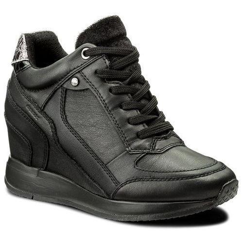 Półbuty damskie, Sneakersy GEOX - D Nydame A D540QA 00085 C9997 Black