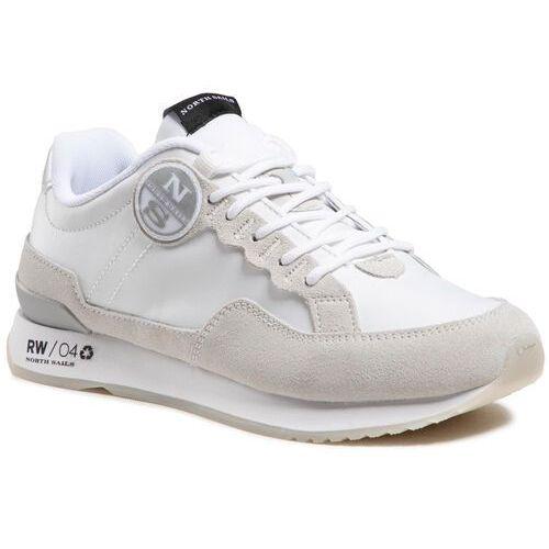 Damskie obuwie sportowe, Sneakersy NORTH SAILS - RW-04 Pure White 059 White