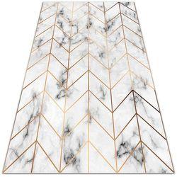 Modny uniwersalny dywan winylowy Modny uniwersalny dywan winylowy Jodełkowy marmur