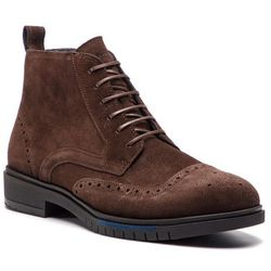 Trzewiki TOMMY HILFIGER - Flexible Dressy Brogue Boot FM0FM01993 Coffee Bean 212