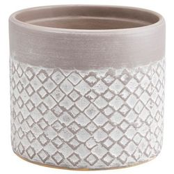 Doniczka ceramiczna GoodHome ozdobna 10,5 cm driftwo