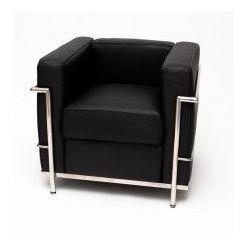 Fotel Kubik insp. Le Corbusier