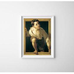 Plakat w stylu retro Plakat w stylu retro Ucieczka przed krytyką Pere Borrell Del Caso