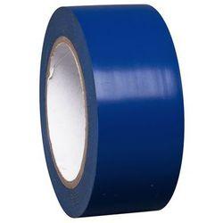 Taśma do znakowania podłoża z winylu, jednokolorowa, szer. 50 mm, niebieska, opa