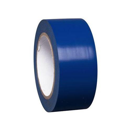 Pozostałe bezpieczeństwo w domu, Taśma do znakowania podłoża z winylu, jednokolorowa, szer. 50 mm, niebieska, opa