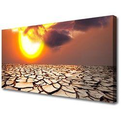 Obraz Canvas Słońce Pustynia Krajobraz