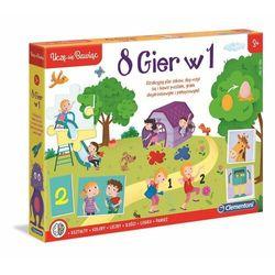 Clementoni 8 Gier w 1 Uczę sie Bawiąc 50089 p6, cena za 1szt.