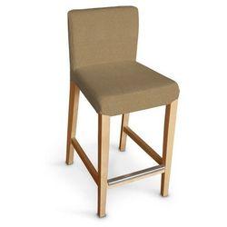 Dekoria Sukienka na krzesło Kaustby bez wiązań Fleur 137-24, krzesło Kausby