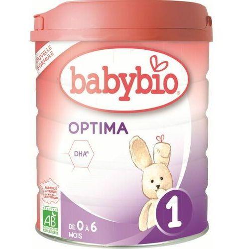 Mleka modyfikowane, Mleko początkowe dla niemowląt od 0 do 6 miesięcy BIO 800 g BABYBIO