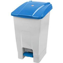 Kosz na odpady z pokrywą niebieską otwieraną nogą 70 litrów Kosz na odpady medyczne, Kosz do szpitala