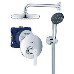 Zestaw prysznicowy podtynkowy Grohe Get 1-funkcyjny śr. 30 cm z baterią