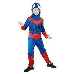 Kostium dziecięcy Bohater z pajęczyną - Spiderman - M - 121/130 cm
