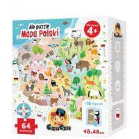 Puzzle, Ale puzzle Mapa Polski 64 elementy - DARMOWA DOSTAWA OD 199 ZŁ!!!