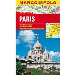 Paryż 1:15 000. Foliowany plan miasta. Marco Polo (opr. miękka)