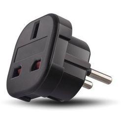 Adapter sieciowy Forever EU/UK czarny