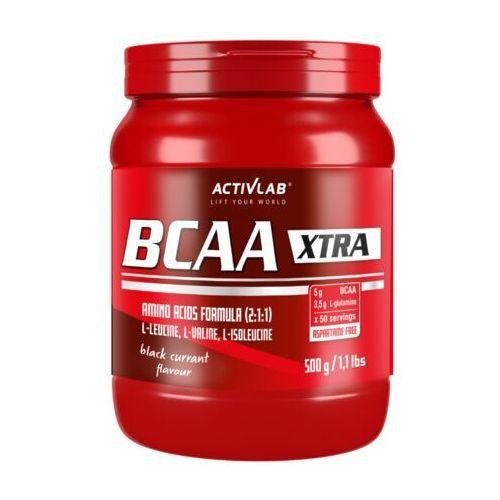 Aminokwasy, ACTIVLAB BCAA Xtra - 500g - Blackcurrant