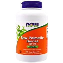 NOW FOODS Saw Palmetto Berries 550mg - 250 kapsułek