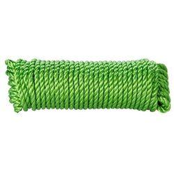 Lina skręcana polipropylenowa Diall 10 mm x 7 5 m zielona