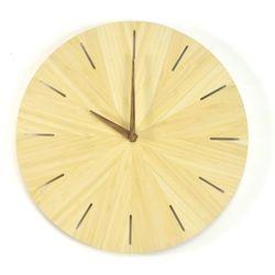 Woodway Clock - Cross- Zegar ścienny Bambus