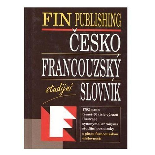 Pozostałe książki, FIN Č-F slovník studijní váz.