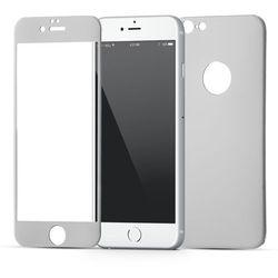 (EOL) Szkło Hartowane Na Cały Ekran i Obudowę iPhone 6S / 6 (Srebrny)