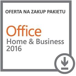 Microsoft Office Home & Business PL (Dom i Mała Firma) 2016 ESD