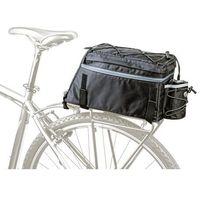 Sakwy, torby i plecaki rowerowe, Torba na Bagażnik Author A-N472 X9 Czarna
