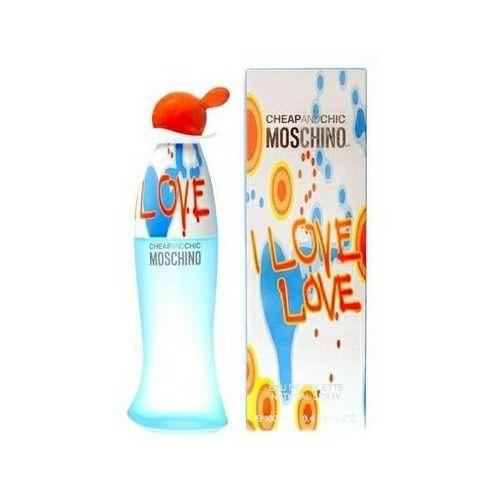 Wody toaletowe damskie, Moschino Cheap & Chic I Love Love Woman 100ml EdT