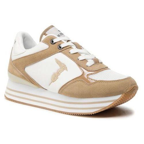 Damskie obuwie sportowe, Sneakersy TRUSSARDI - 79A00646 W050