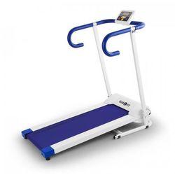 Pacemaker X1bieżnia 10 km/h komputer treningowy biało- niebieska