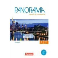 Książki do nauki języka, Panorama A 2.1 Kursbuch - Finster Andrea, Giersberg Dagmar, Jin Friederike, Paar-Grunbichler Verena (opr. miękka)