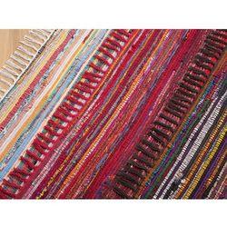 Dywan jasnokolorowy 140x200 cm krótkowłosy - chodnik - bawełna - DANCA