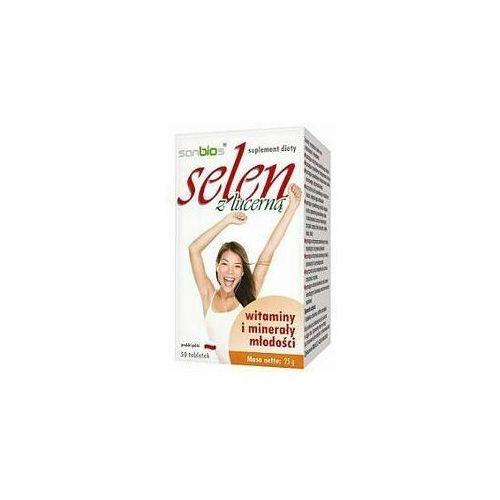 Detox i oczyszanie organizmu, Selen z lucerną 50 tabl.