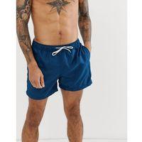 Kąpielówki, Selected Homme Swim Shorts - Navy