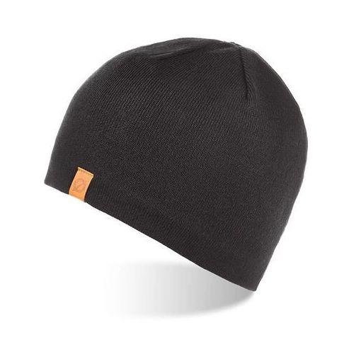 Nakrycia głowy i czapki, Czapka męska zimowa z polarem brodrene cz1 czarna
