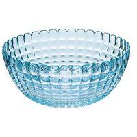 Misy i miski, Miska Guzzini Tiffany L 25 cm niebieska
