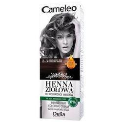 Cameleo Henna Ziołowa do koloryzacji włosów 3.3 Czekoladowy Brąz