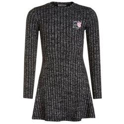 GEORGE GINA & LUCY girls MILANO DRESS Sukienka dzianinowa super black