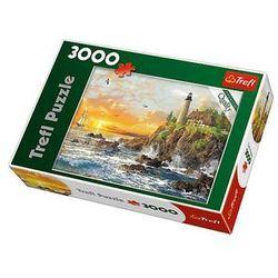 Puzzle TREFL 33044 Zachód nad skalistym wybrzeżem (3000 elementów)