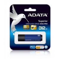 Flashdrive, Adata DashDrive Elite S102 Pro 32GB USB3.0 niebieski - 100MB / 50MB