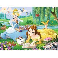 Puzzle, 30 elementów, Princess - Bella i Kopciuszek