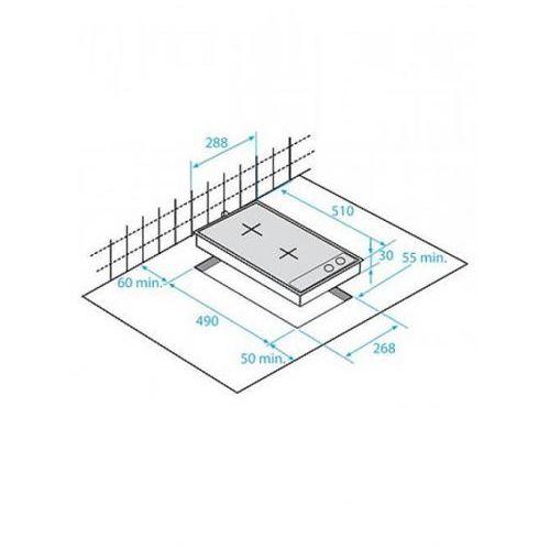 Płyty gazowe, Beko HDCG32220SX