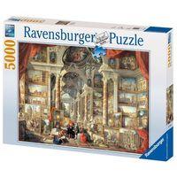 Puzzle, RAVEN. 5000 EL. PANINI:VEDUTE DI ROMA M. PUZZLE