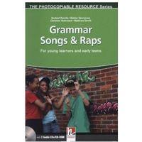 Książki do nauki języka, Grammar Songs & Raps + CD
