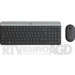 Zestaw klawiatura+mysz LOGITECH MK470 Slim Wireless Combo 920-009204
