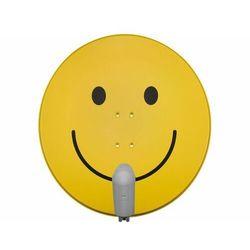 TECHNISAT SATMAN 850 Plus, konwerter UNYSAT Single LNB, smiley