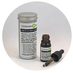 Surowy olej pełne spektrum 5% CBD (500 mg) 10 ml