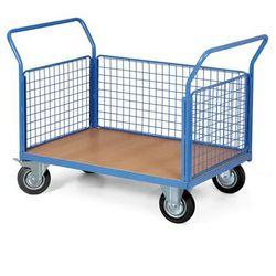 Wózek platformowy ze ścianami, 1200 x 800 mm