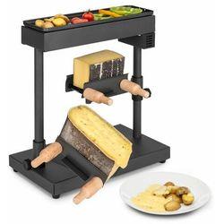 Klarstein Appenzell XL, raclette z grillem, 600 W, termostat, 2 uchwyty na ser